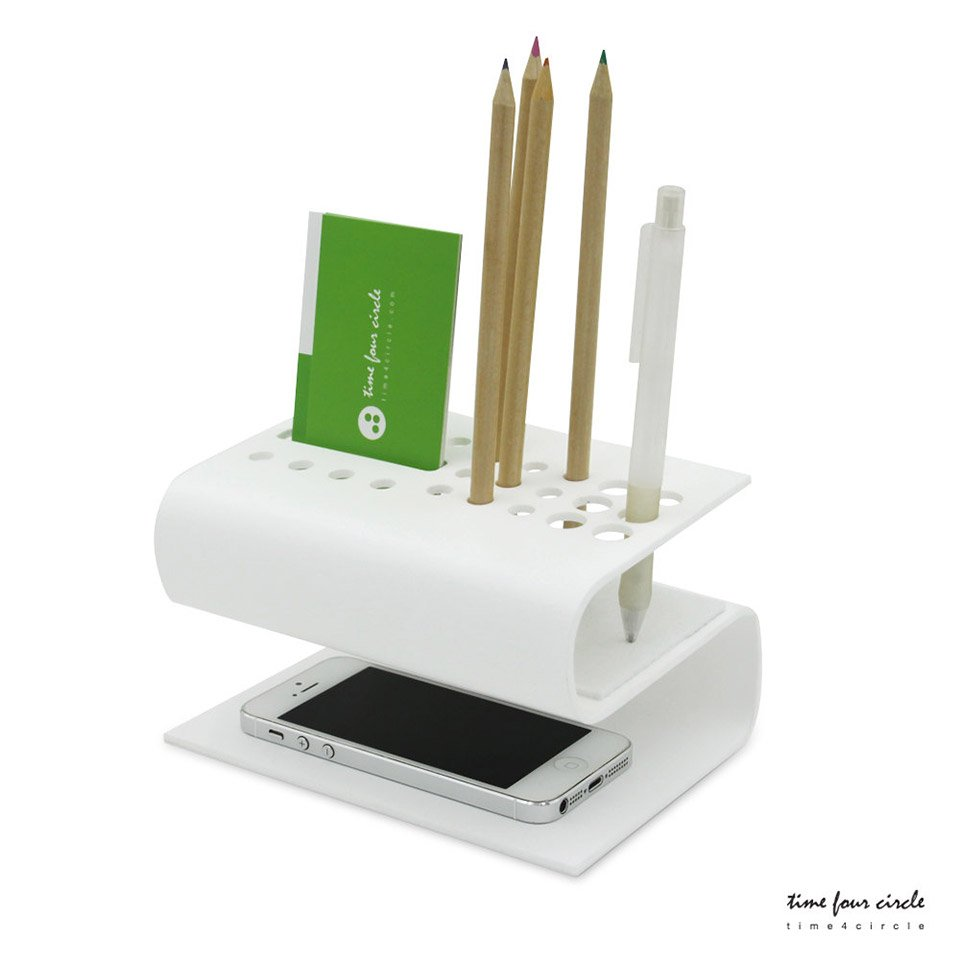 Bent Acrylic Desk Organizers The Awesomer