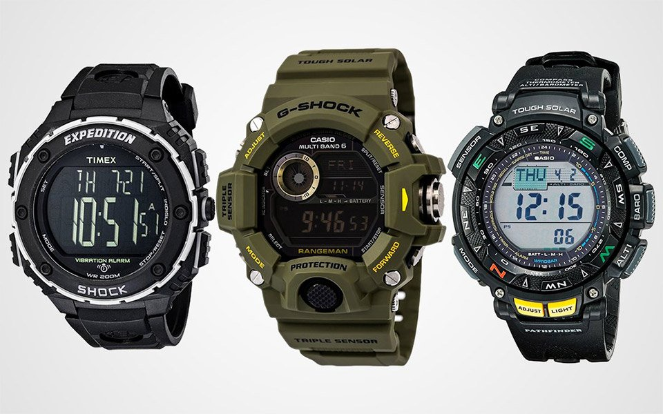 best digital watches for guys the awesomer