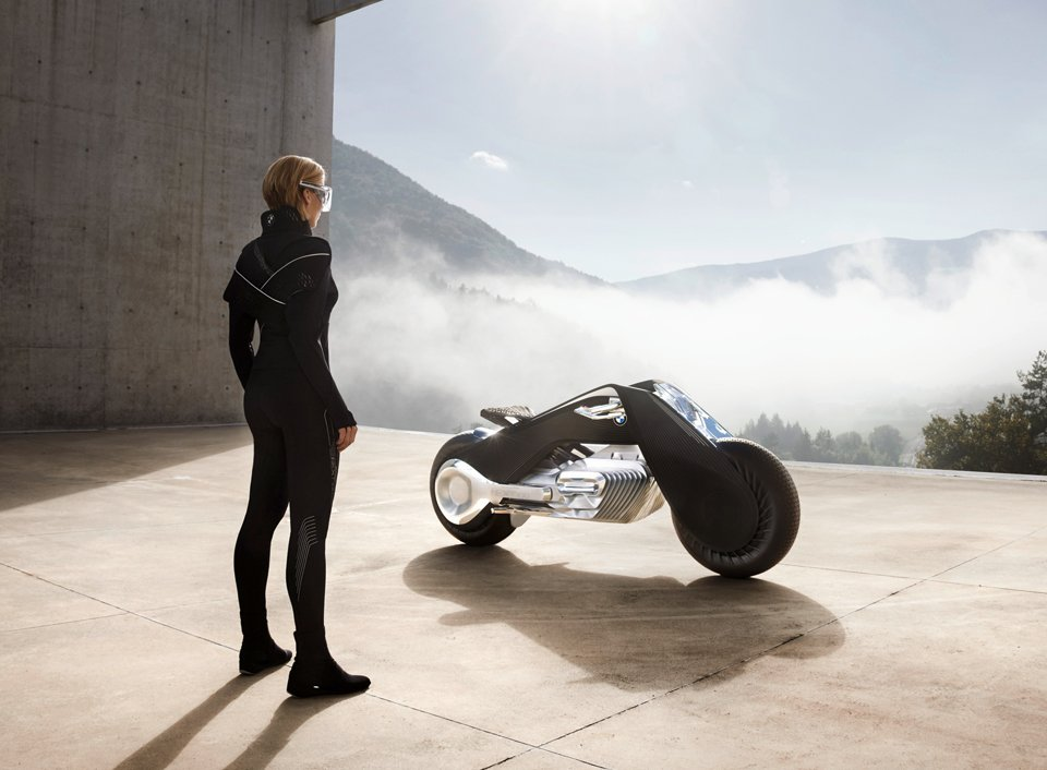 Bmw Motorrad Vision Next 100 The Awesomer