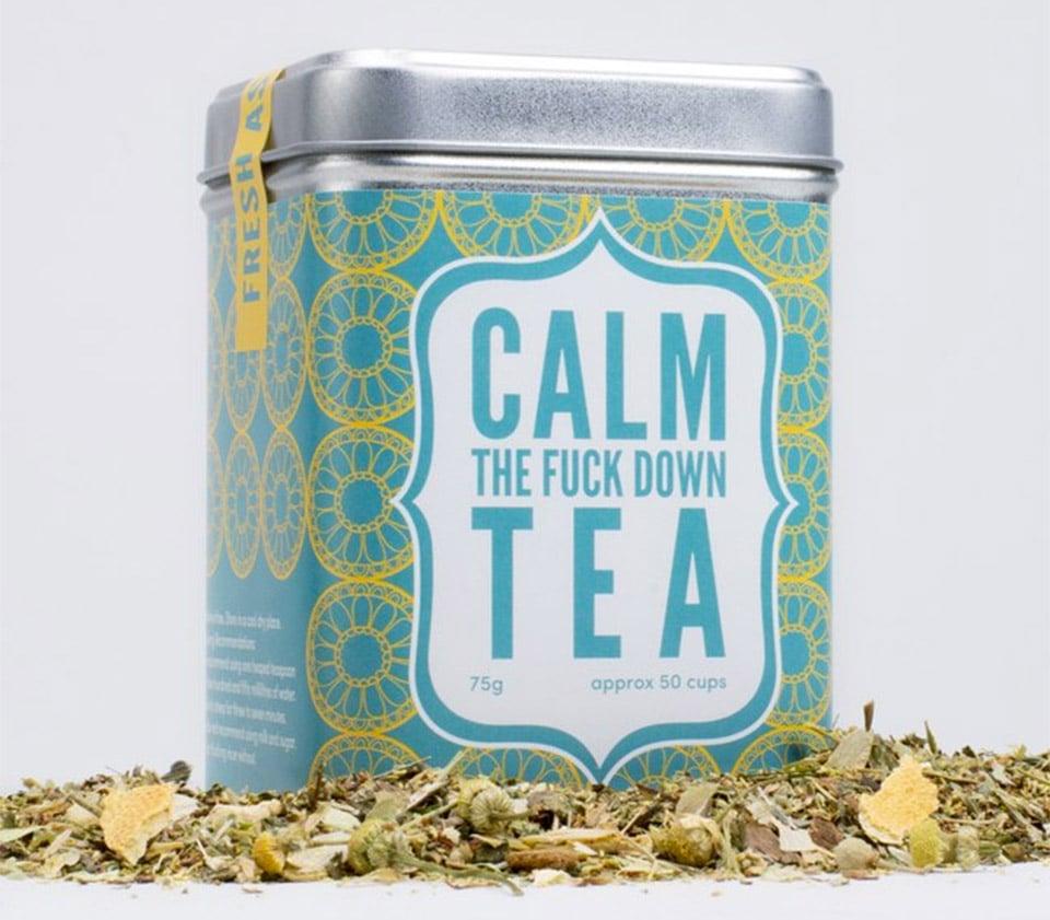 Calm The F**k Down Tea