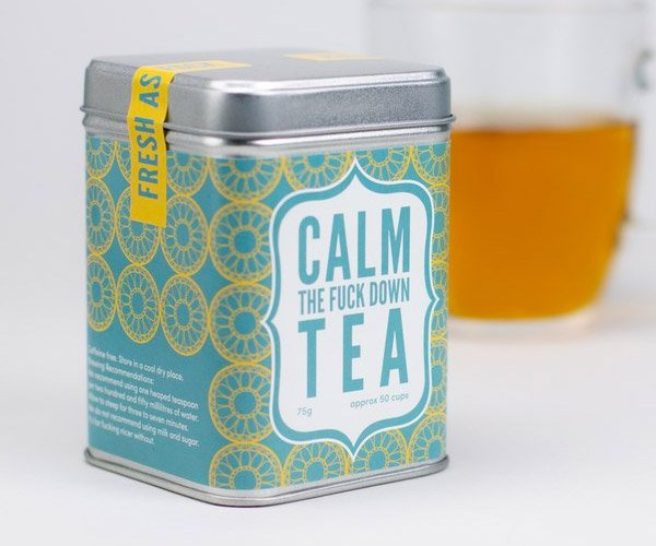 Calm The F**k Down Tea