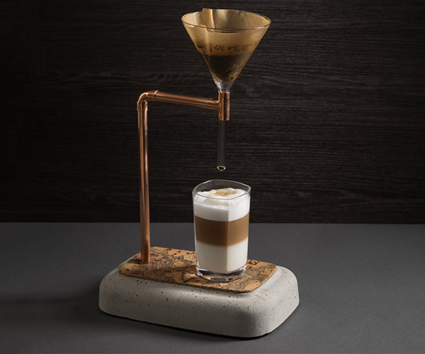 Concrete Pourover Coffee Maker
