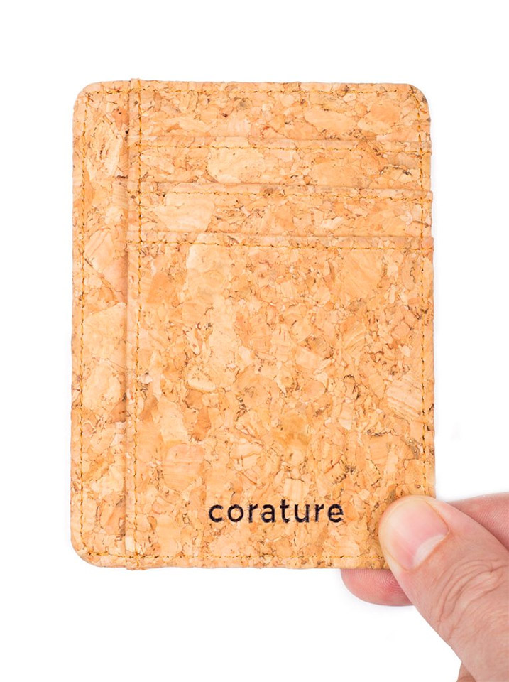 Corature Slim Cork Wallet