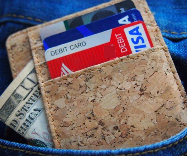 Corature Slim Cork Wallet
