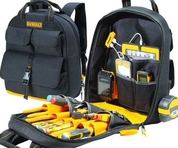 DeWalt USB Charging Tool Backpack