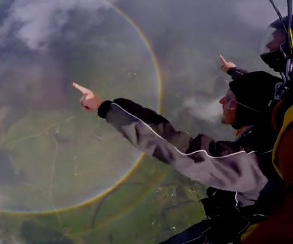 Double Rainbow Skydive
