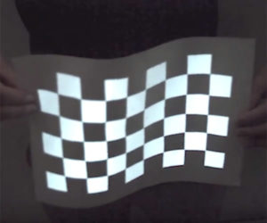 Cool projection mapping on The Awesomer on