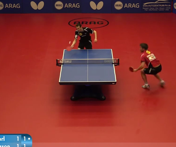 Awesome Ping Pong Finals