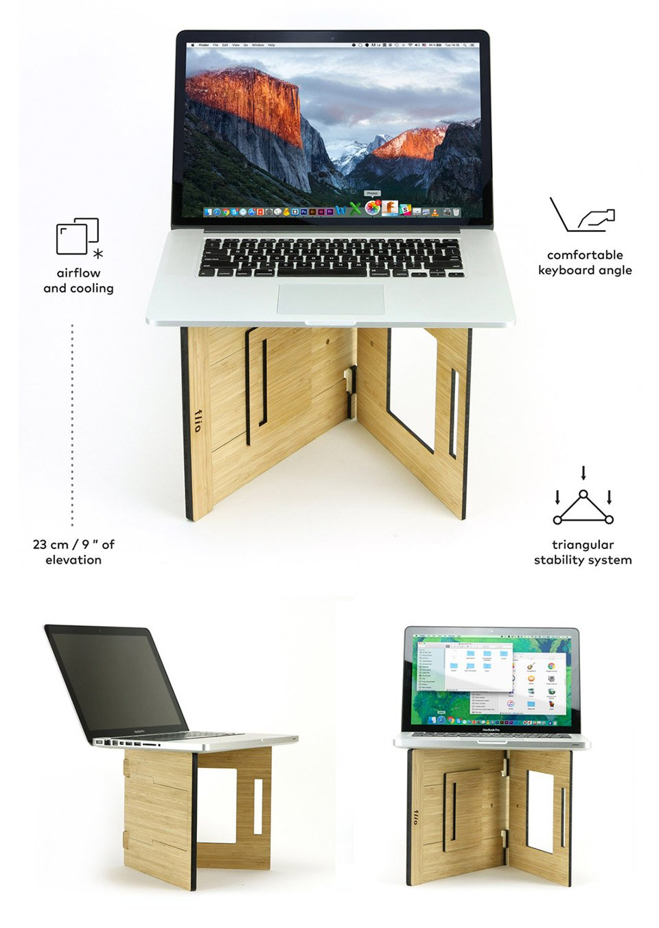 Flio Up Laptop Workstation