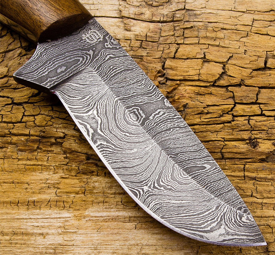 Deal: Sentinel Damascus Steel Knife