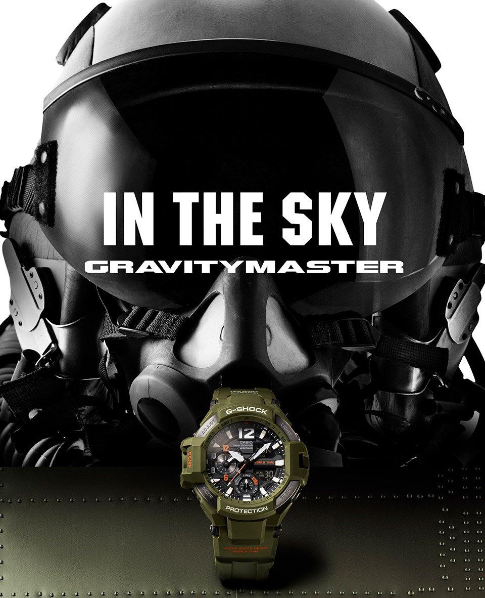 G-SHOCK Gravitymaster Olive Green