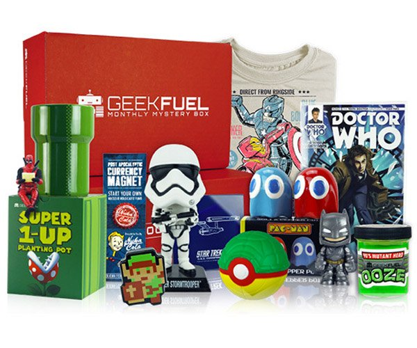Deal: Geek Fuel Mega Pack