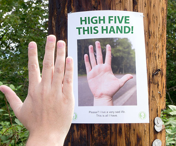 High Five This Sign