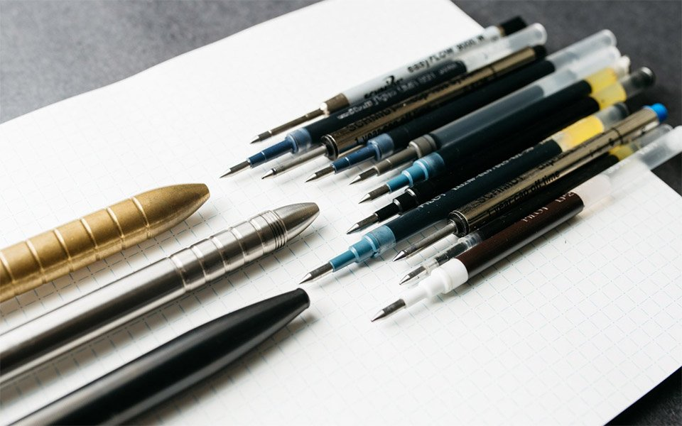 Best Ink Refills for EDC Pens