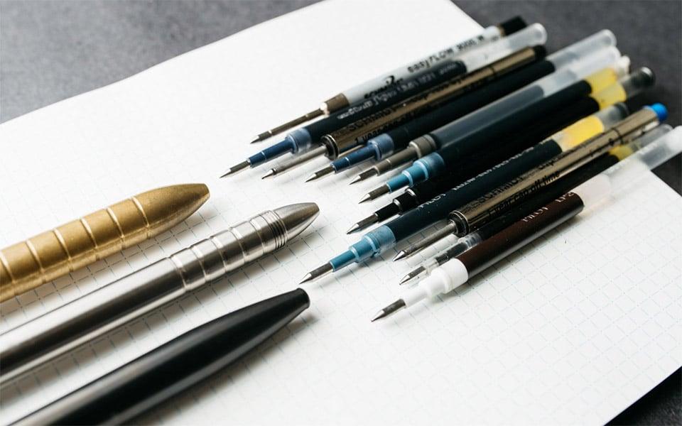 Best Ink Refills for EDC Pens