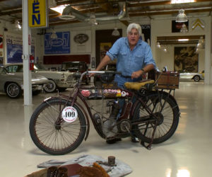 Leno Checks out a 1912 Indian Single