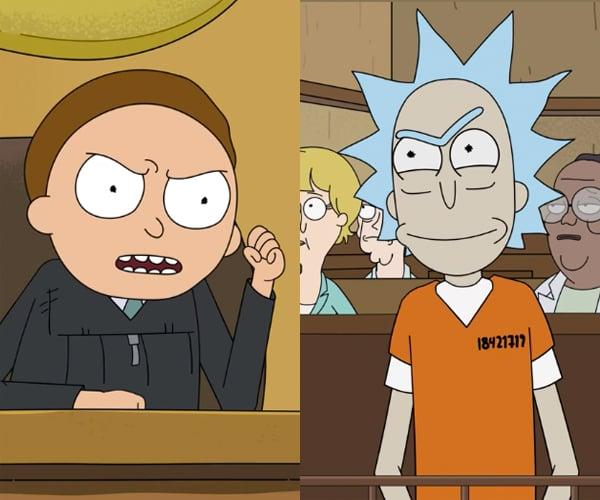 Judge Morty Fan Animation