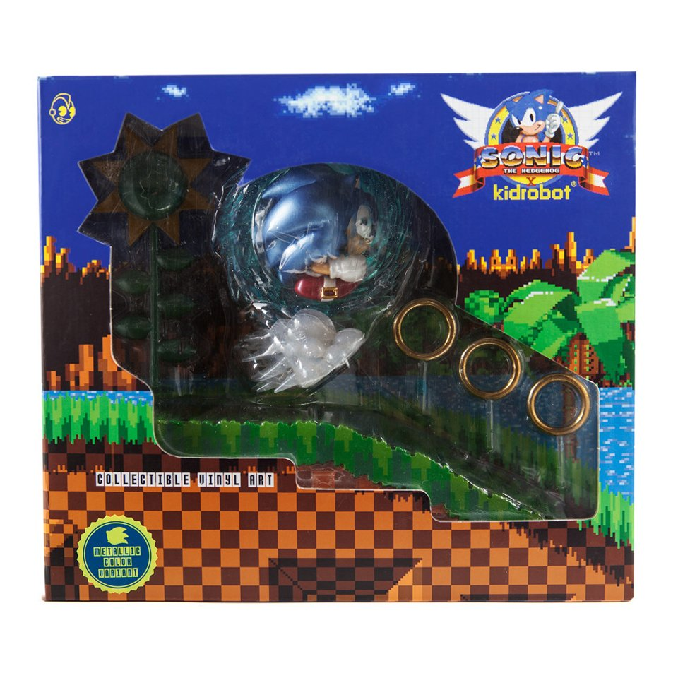 Kidrobot Sonic the Hedgehog Figure