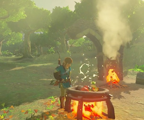 zelda breath of the wild gameplay 2