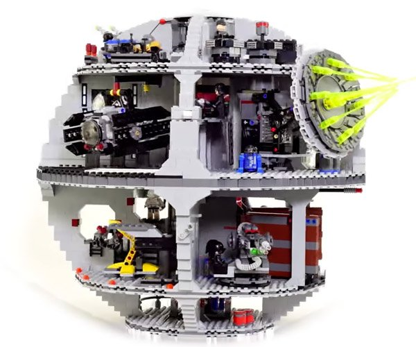 Building a LEGO Death Star