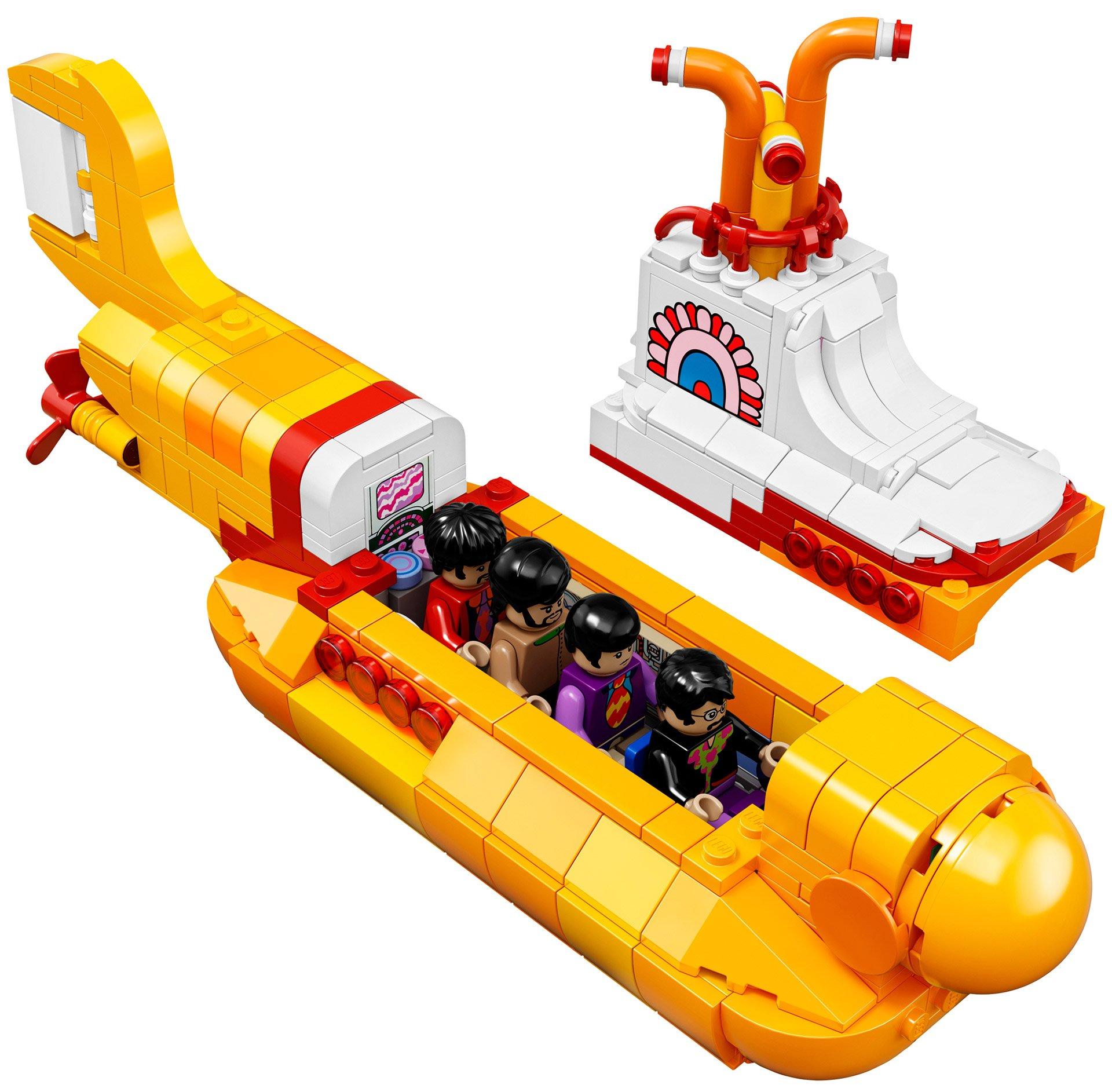 LEGO Yellow Submarine