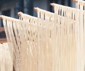 Making Suomian Noodles