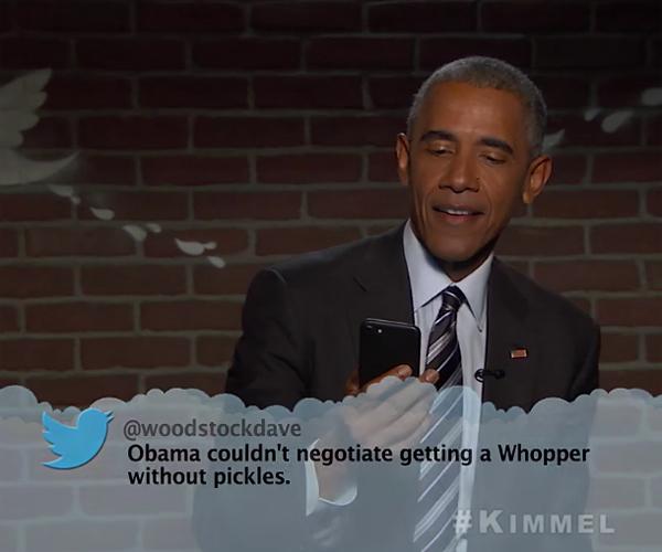 Mean Tweets: President Obama 2
