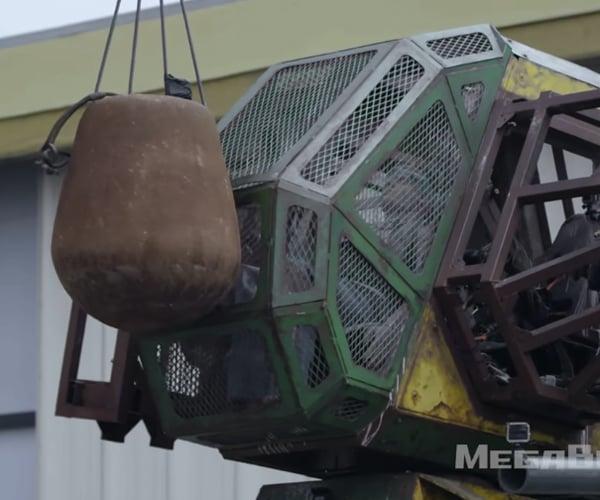 Crash Testing a Giant Robot