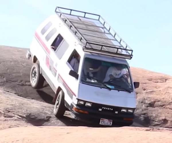 Minivan Off-Roading