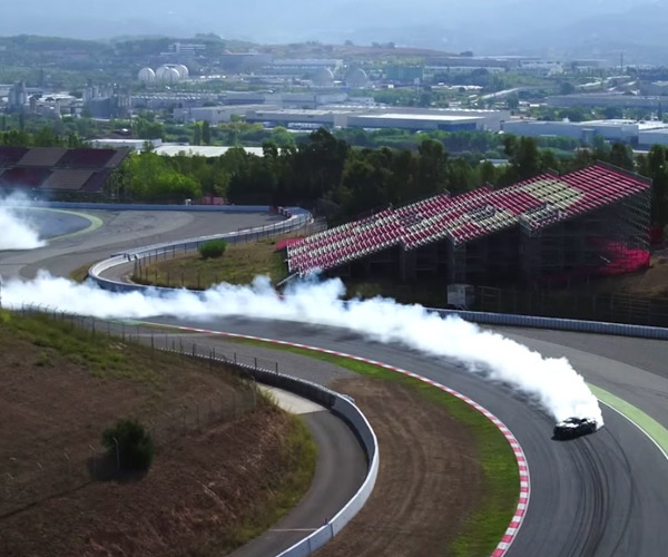 Mustang Drifts F1 Track