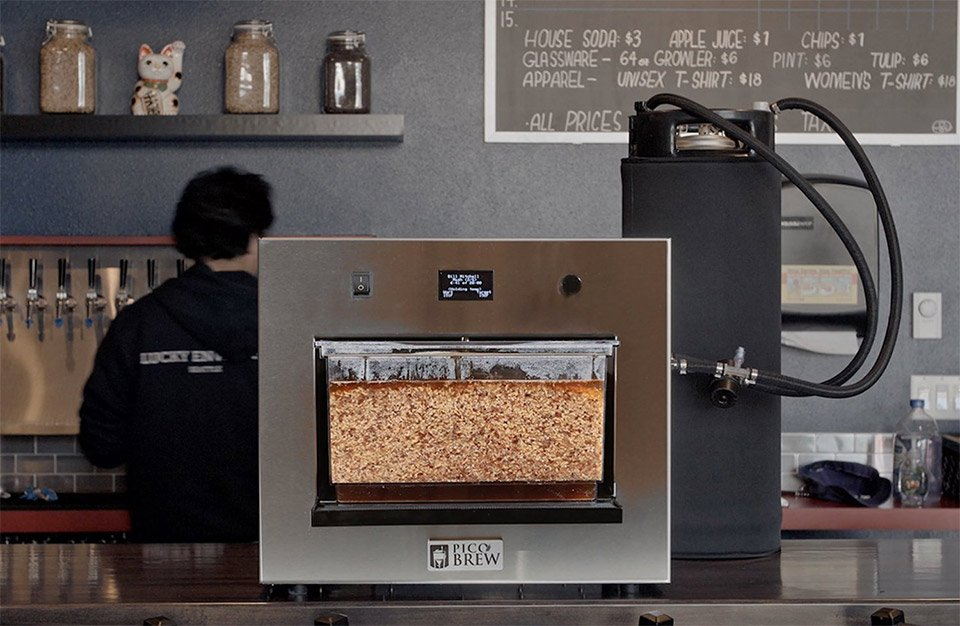 PicoBrew Zymatic Beer Machine
