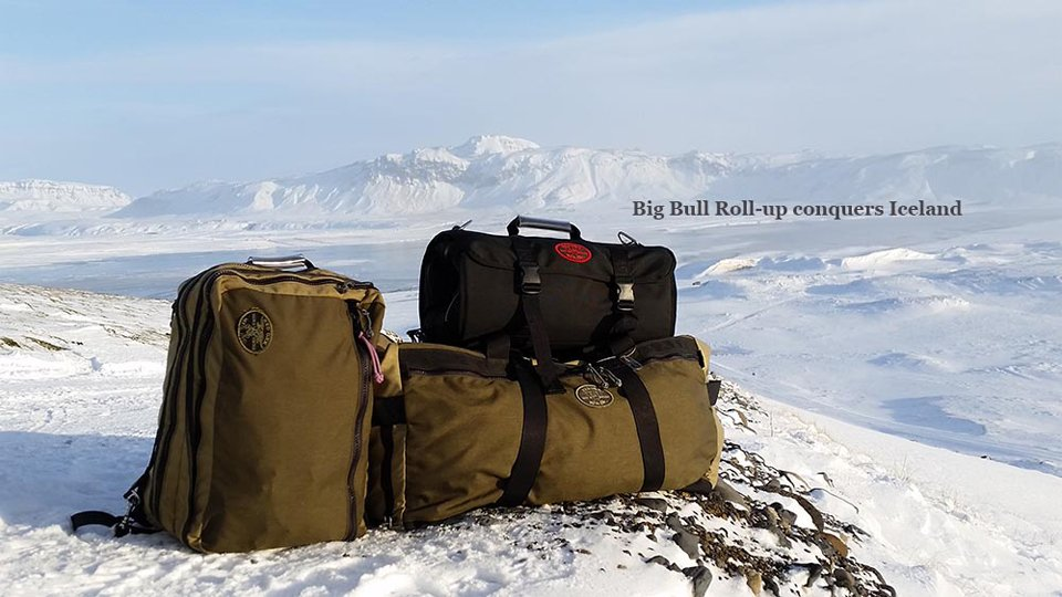 Big Bull Roll-up Bag