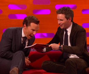 Redmayne & Cumberbatch Do Magic