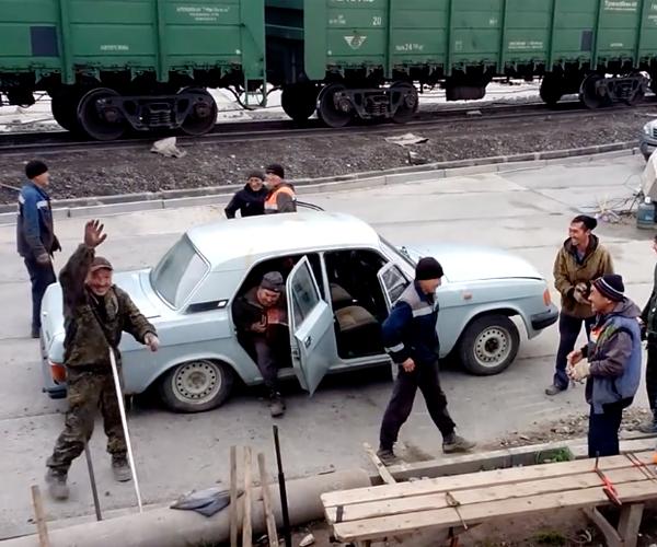 Russian Clown Car
