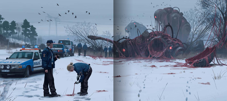 Simon St 229 Lenhag Things From The Flood The Awesomer