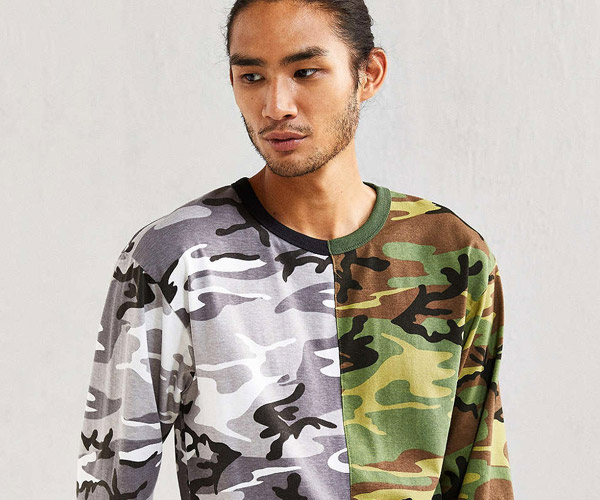 Spliced Rothco Camo Tee