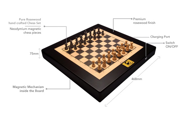 Square Off Smart Chess Set