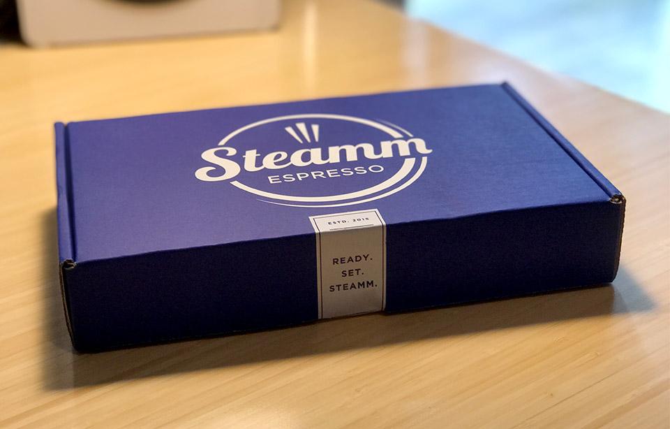 Steamm Espresso Shots