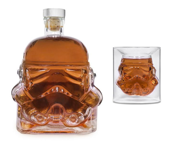 Stormtrooper Decanter & Shot Glass