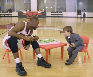 Talking Snacks with the Bulls