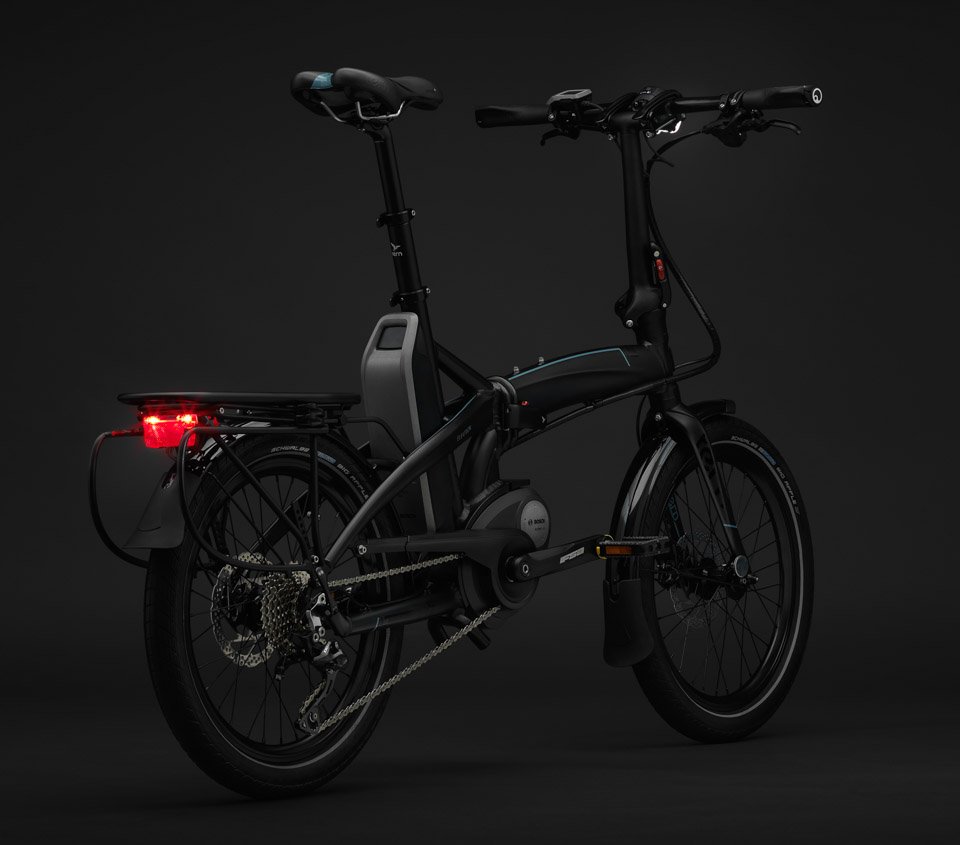 tern vektron folding electric bike the awesomer. Black Bedroom Furniture Sets. Home Design Ideas