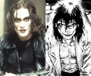 The Crow: Movie vs. Comic Book