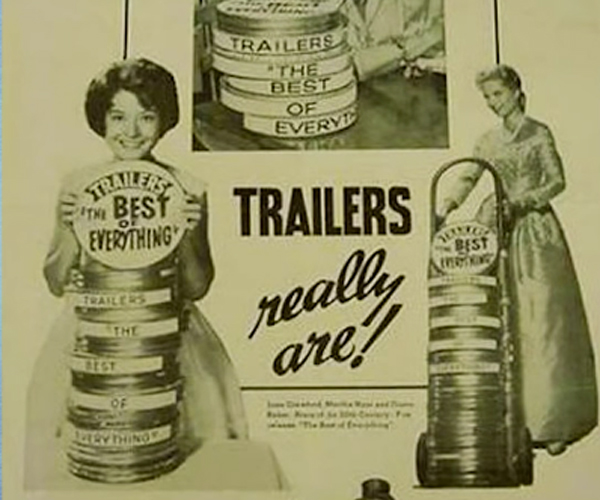 The Origin of Movie Trailers