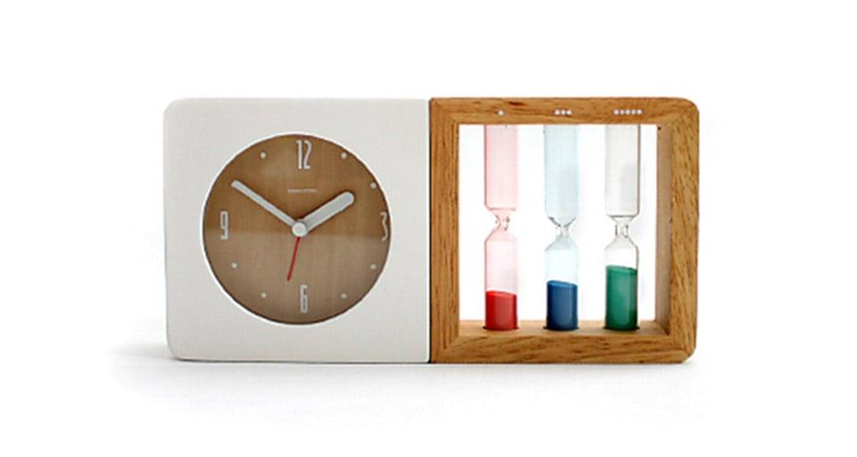 Deal: Three Hourglass Alarm Clock