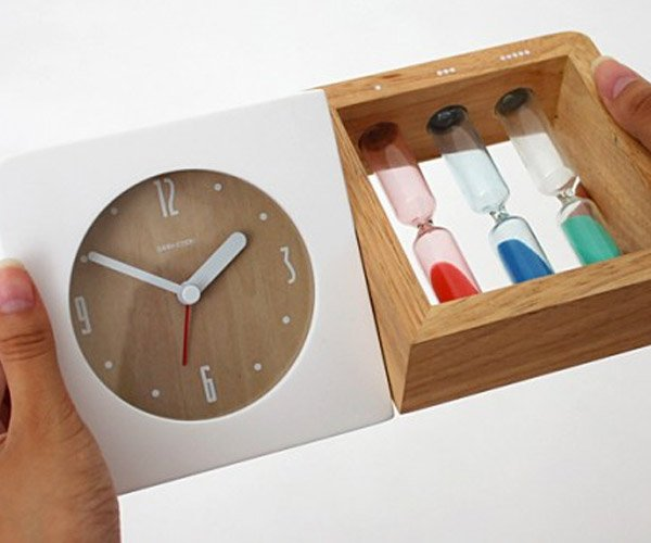 Deal: Three Hourglass Alarm Clock