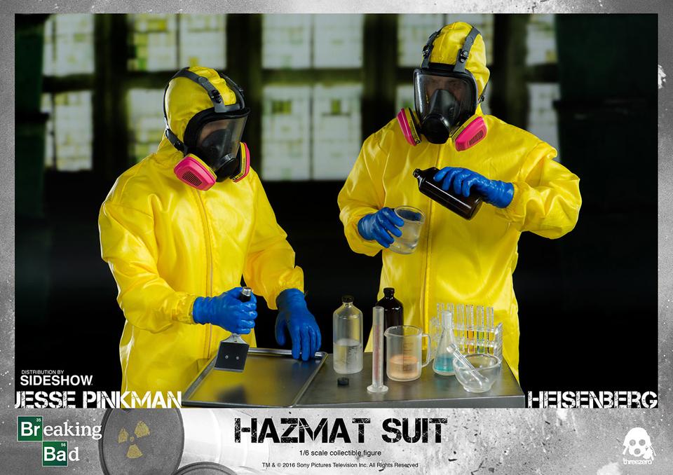 Walt & Jesse Hazmat Suit Figures