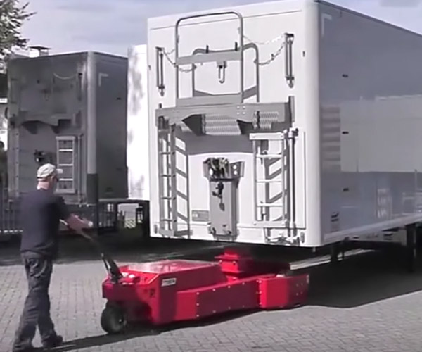Towing Trailers by Hand