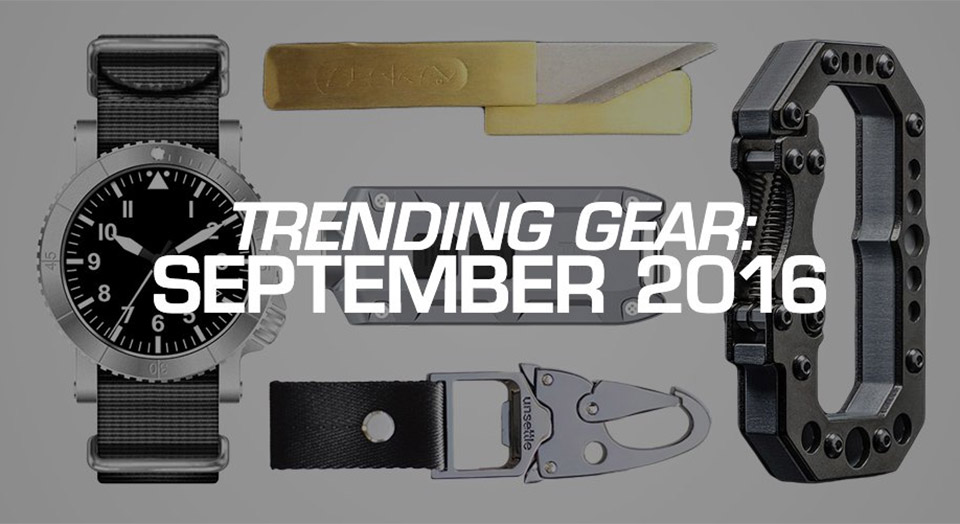 EDC Trending Gear: 9/16