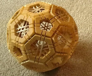 DIY Truncated Icosahedron Puzzle
