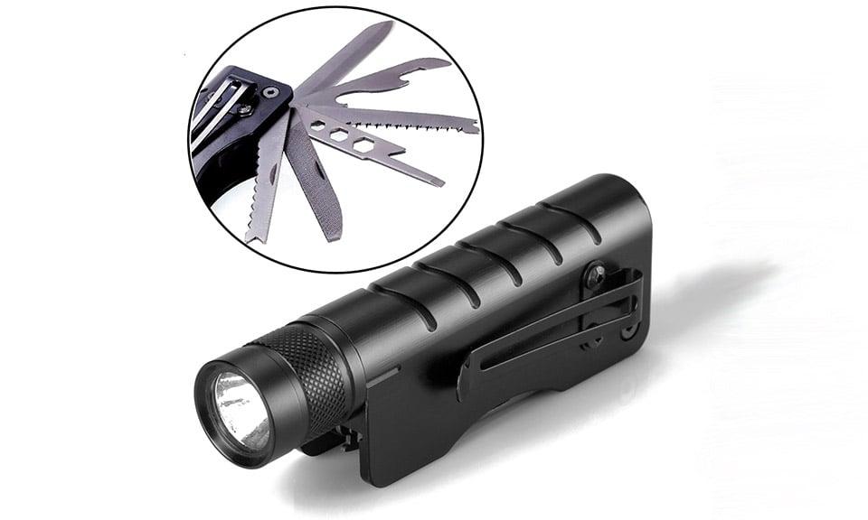 Vouke Tactical Flashlight Multitool